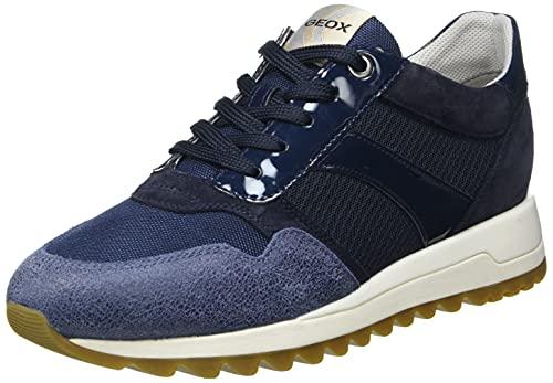 Geox D TABELYA A, Zapatillas Mujer, Azul Marino, 41 EU