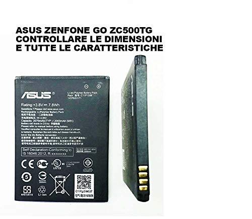 Givimusic Batteria Battery AKKU C11P1506 2070MAH Compatibile ASUS ZENFONE Go ZC500TG