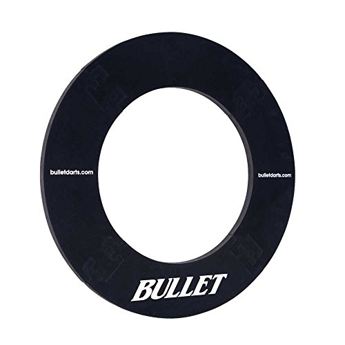 BULLET-Darts Surround Ring für alle gänigen Dartscheiben in Schwarz