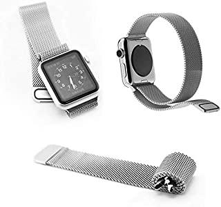 Stainless Steel Mesh Loop Replacement Wrist Band strap for Apple Watch 42mm - Silver