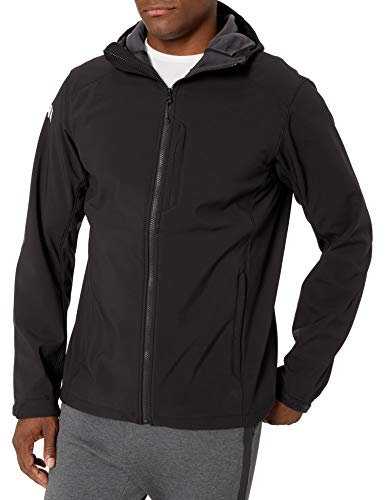 Helly Hansen Herren Paramount Hooded Softshell Jaccke-62987 Jacke, Black, L
