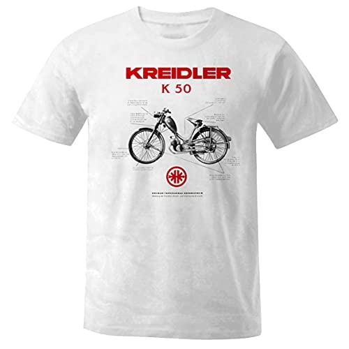 Camiseta unisex Kreidler K 50 Bike Moto Moped Simson MZ Vespa Oldtimer