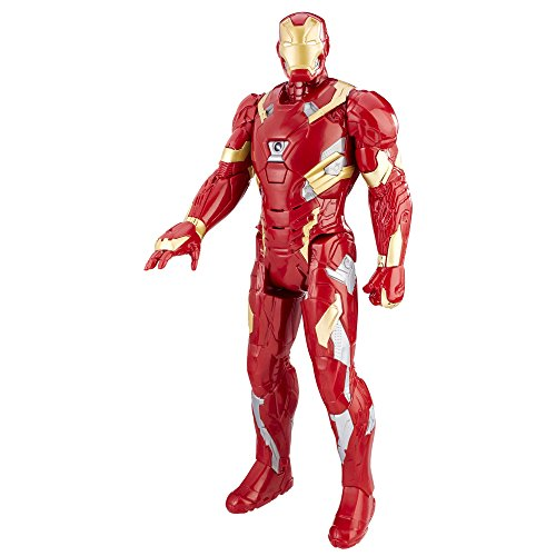 Marvel Avengers - C2162 - Figurine Electronique - Iron Man - Titan 30 cm