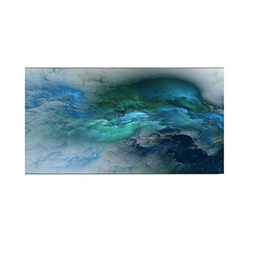 Nubes coloridas abstractas lienzo pintura mural sala arte moderno cartel decoración pintura
