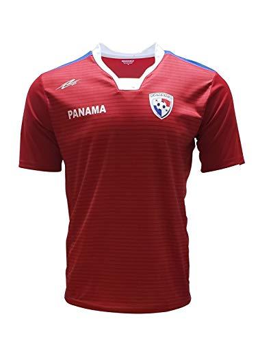 Panama New Desing Arza Soccer Jersey Red Slim Fit (Medium)