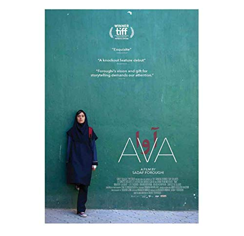 Ava Sadaf Foroughi Movie Wall Art Painting Print on Canvas Art Poster Pictures Living Room Pictures Home Decor (50x75cm)-20x30 in No Frame