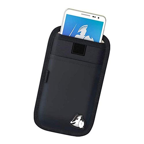 DefenderShield Universal EMF & 5G Radiation Protection Pouch for Smartphones, Cell Phones and Other Electronic Devices (Small)