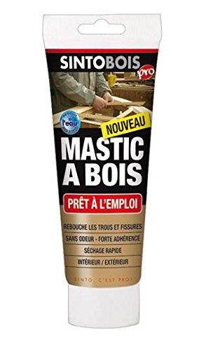 Sinto 39700 Tube de Mastic à bois Pâte Bois Blond