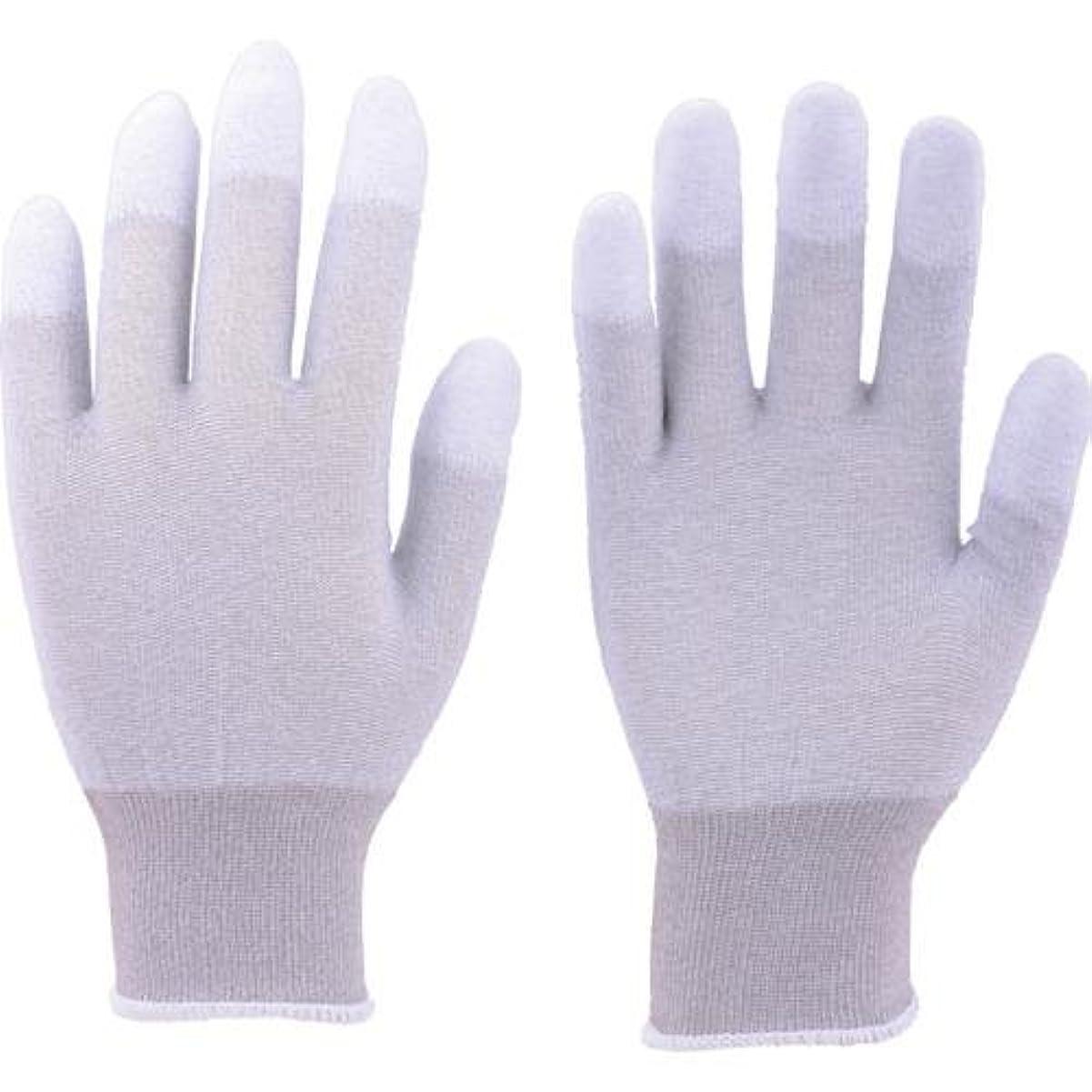 雨密輸親愛なTRUSCO(トラスコ) 静電気対策用手袋(指先ウレタンコート) M