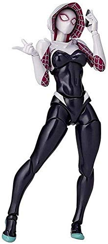 XINZ-BYT Juguete Avengers Spider-Gwen Figura de acción - Juguetes de 7 Pulgadas -Joint Movible Infinity War Figure Colección de Regalo de cumpleaños Infantil Modelo de Juguete