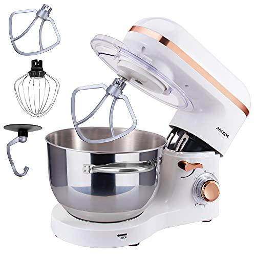 Arebos Küchenmaschine 1500W mit 6L...