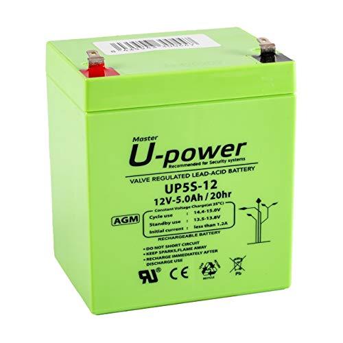 Master U-power Bateria Plomo AGM UP 5Ah 12V
