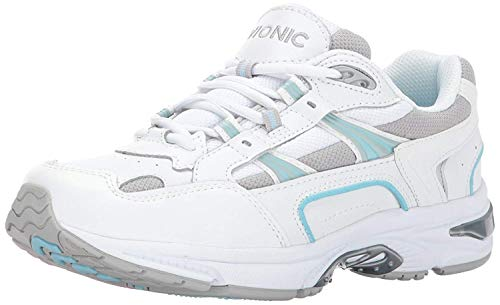 Vionic Women's Walker Classic Shoes, 10 B(M) US, White/Blue