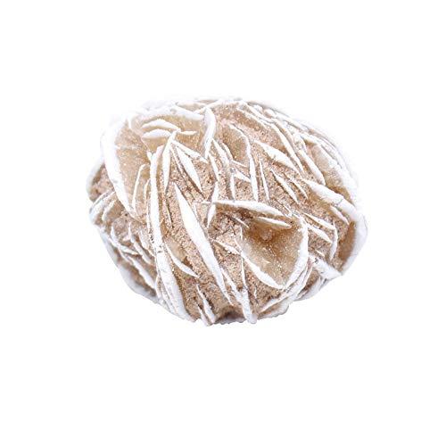 Sygjal Pure Natural Desert Desert Rose Pietra Minerale Specimen Rough Campione Ornamentale Collezione Ornamentale Quarzo Decorazione della casa Calcolo (Color : Desert Rose Stone, Size : 40-50g)