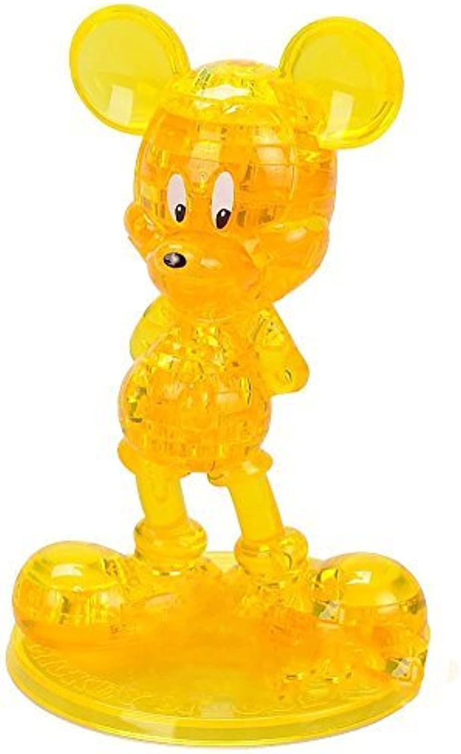 45 piece Original 3D Crystal Puzzle  Yellow by CP