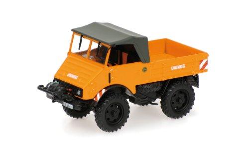 439030205 Unimog 401 mit Seilwinde 1951 1:43 Minichamps