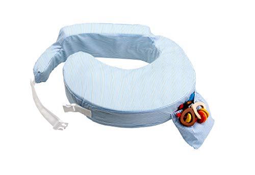 my Breast friend – Das patentierte amerikanische Stillkissen klassisch, blauweiß gestreift