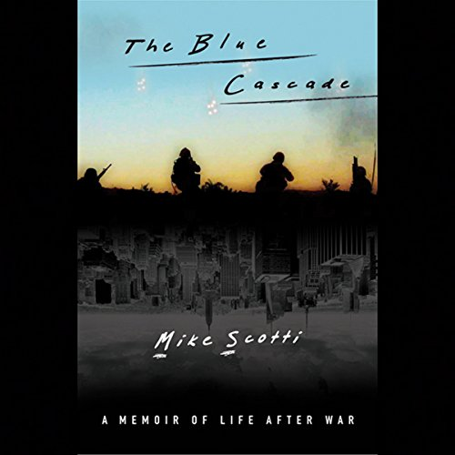 The Blue Cascade audiobook cover art