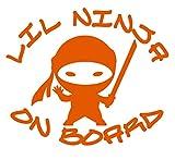 UR Impressions IOrn Lil Ninja a bordo calcomanía de vinilo gráficos...