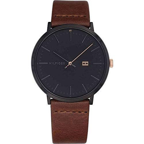 Tommy Hilfiger Analog Black Dial Men's Watch - TH1791461