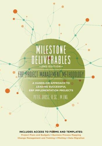 Milestone Deliverables: ERP Project Management Methodology