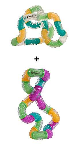 Tangle Relax Imagine + BrainTools Think - Combo 2-Pack - Fidget