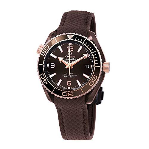 Omega Seamaster Planet Ocean Reloj automático para hombre con esfera marrón 215.62.40.20.13.001