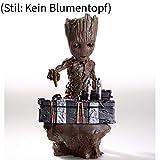Baby Groot Innovative Action Knopf-Dekoration aus der Galaxis (Kein Blumentopf)