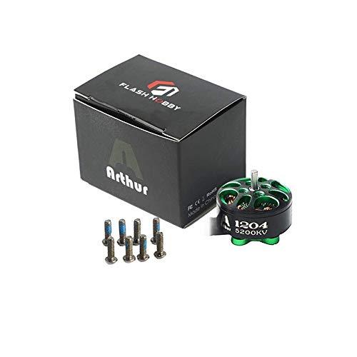 Arthur A1204 1204 5200kv 2-4S Micro Brushless Motor for FPV Racing Drone Mini Multirotor 100-150mm Frame kit