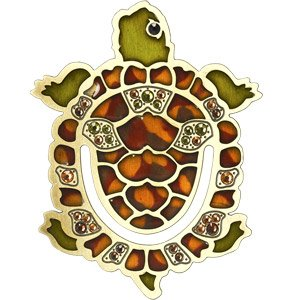 Jay Strongwater Turtle Bookmark
