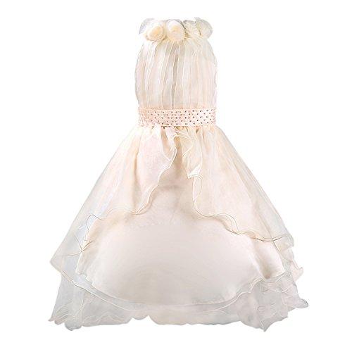 Katara- Eiskönigin vestido, Color beige, 6-7 años (0730133655456)