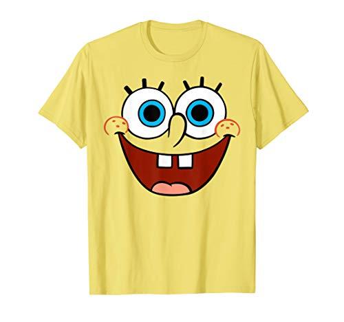 Spongebob SquarePants Large Smiling Face T-Shirt T-Shirt