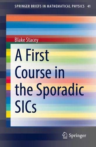 A First Course in the Sporadic Sics