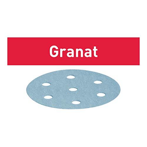 Festool Schleifscheiben STF D125/8 P80 GR/50 Granat 50 Stk
