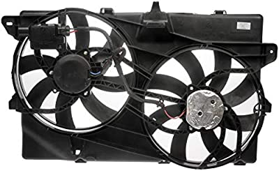 Dorman 621-392XD Engine Cooling Fan Assembly for Select Ford / Lincoln Models, Black (OE FIX)