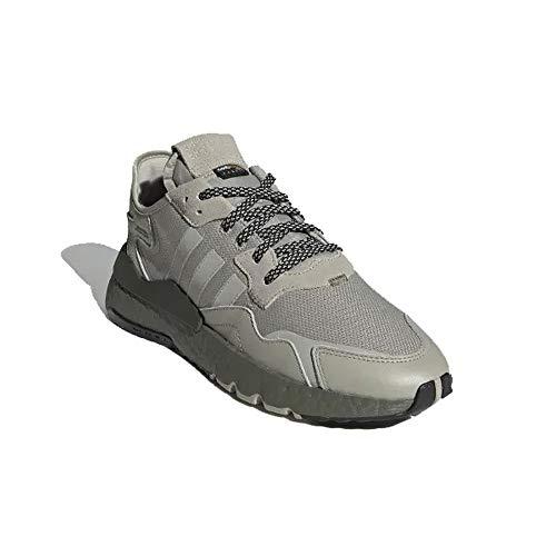 adidas Hombre Nite Jogger Zapatillas Marrón, 46 2/3