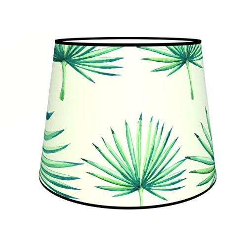 Abat-jours 7111303520799 Conique Olus Lampadaire, Tissus/PVC, Multicolore