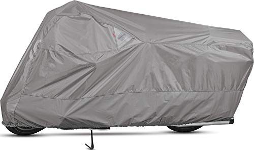 Dowco Guardian 50003-07 WeatherAll Plus Indoor/Outdoor Waterproof Motorcycle Cover: Grey, Large