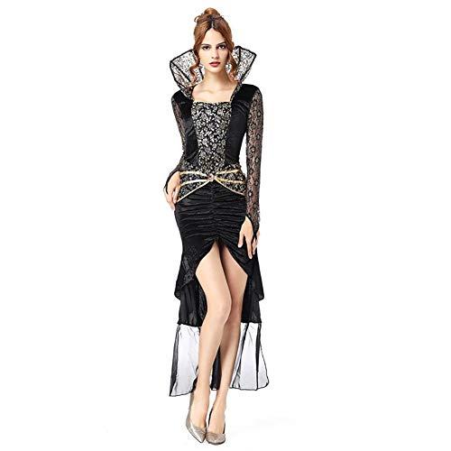 zdw Ropa de mujer, disfraces sexy, personajes de brujas, disfraces de vampiros COS,Medio