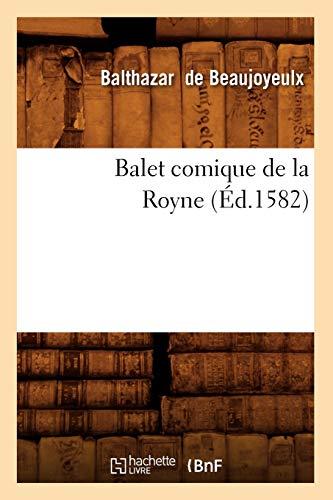 Balet comique de la Royne (Éd.1582)