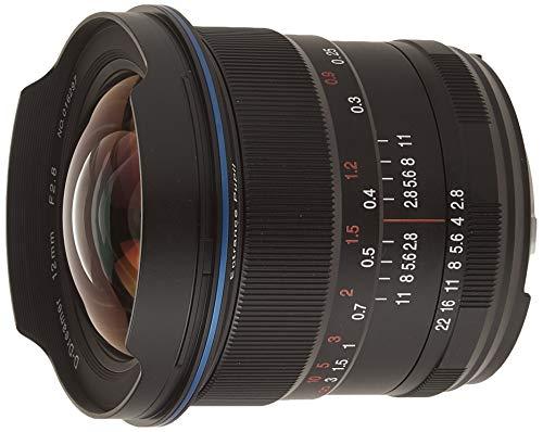 Laowa Weitwinkelobjektiv, 12 mm, f/2.8, Zero-D, Nikon AI MILC/SLR (MILC/SLR, 16/10, Weitwinkelobjektiv, 0,18 m, Nikon AI, 22-2,8) Schwarz