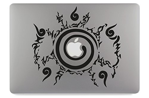 Naruto Chakra Kyuubi zegel Apple MacBook Air Pro sticker skin decal sticker vinyl 11