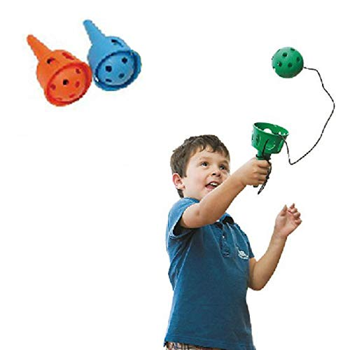 Throw and Catch- Fun Ball and Cup- Soft Ball Kendama for Beginner - Gross Motor Skills Toys - 2PC Pack