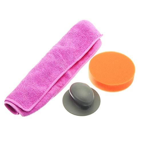 feichang Reparación de coches y mantenimiento de la cera de coche almohadilla toalla esponja cepillo de cuidado del vehículo neumático útil de limpieza herramienta de lavado