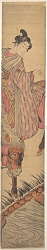 The Poster Corp Isoda Koryusai – Nitate Sekko Kunstdruck (45,72 x 60,96 cm)