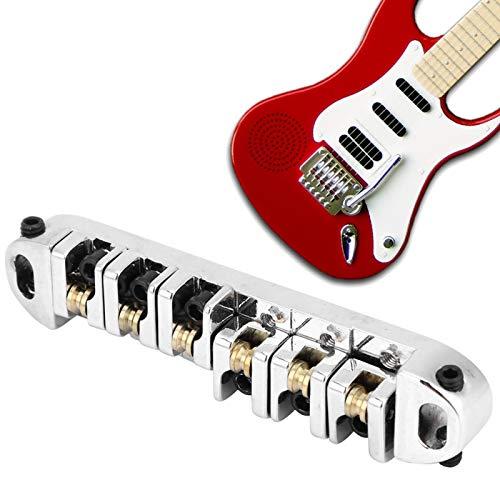 Fybida Puente de Guitarra eléctrica con Rueda Loca de latón para una...