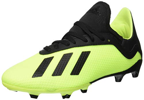adidas X 18.3 FG, Zapatillas de Fútbol, Amarillo (Solar Yellow/Core Black/Solar Yellow 0), 35 EU