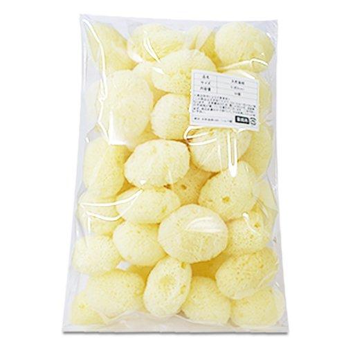 【業務用】天然海綿シルク サイズ5(約5cm)1袋50個入り│プロ仕様 吸収力・耐久力抜群 サニタリー