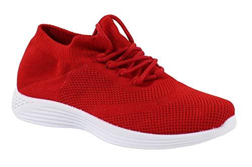 By Shoes - Tenis confort de tela para mujer