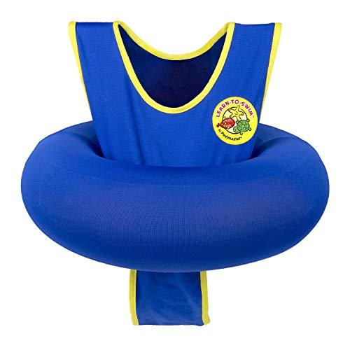 Poolmaster Learn-to-Swim Swimming Pool Tube Float Trainer, Blue
